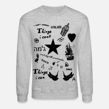Harry Potter Harry's Tattoos - Unisex Crewneck Sweatshirt