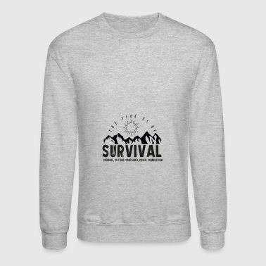 5Cs of Survival Mountain - Crewneck Sweatshirt