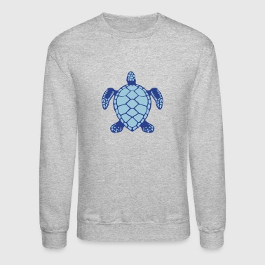 sea turtle animals 602 - Crewneck Sweatshirt