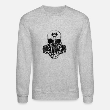Biohazard New Design Biohazard Skull Best Seller - Crewneck Sweatshirt
