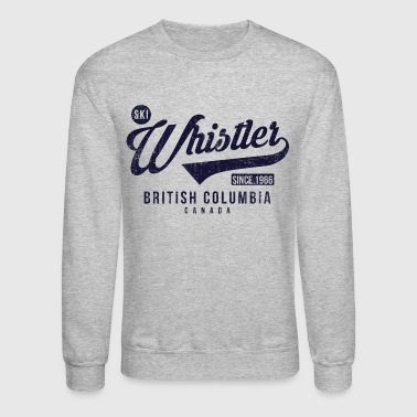 British Whistler British Columbia - Crewneck Sweatshirt