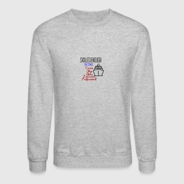 Cruise ship shore excursion professional - Crewneck Sweatshirt