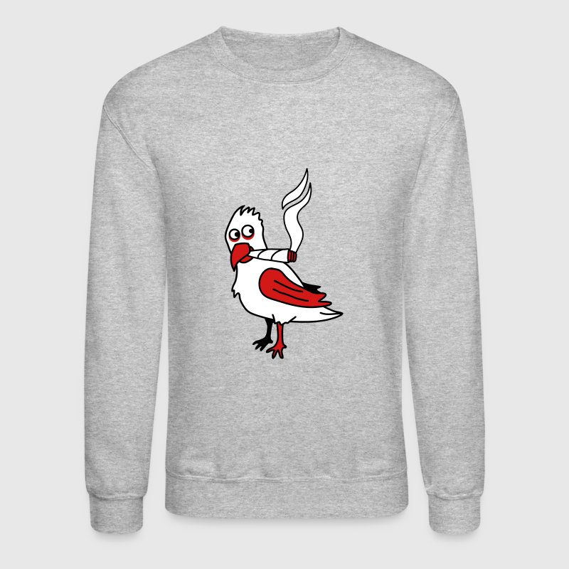 Joint Smoker Parrot Bird - Crewneck Sweatshirt