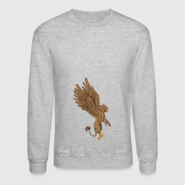 Mythological Animals Graphics - Crewneck Sweatshirt