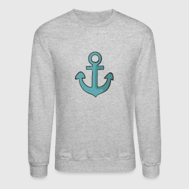 Navy 3 - Crewneck Sweatshirt
