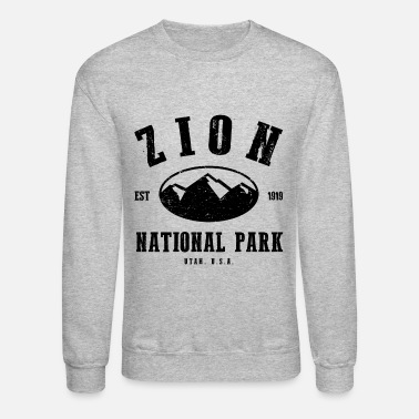 National Zion National Park - Crewneck Sweatshirt