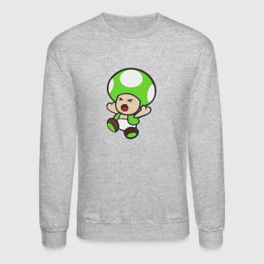 Toad Green - Crewneck Sweatshirt