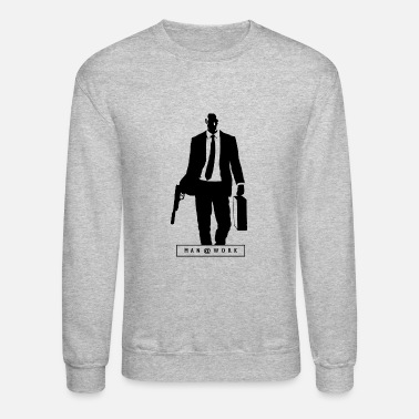 Hitman Man at work : HITMAN - Crewneck Sweatshirt
