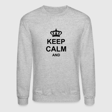 Husband keep calm and g1_k1 - Crewneck Sweatshirt