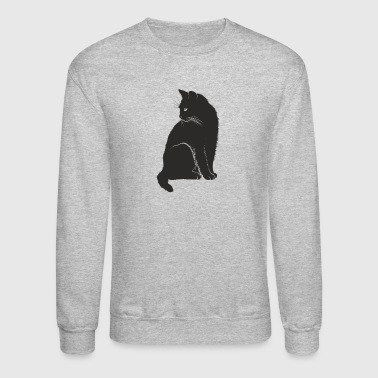 Cat Black Cat - Crewneck Sweatshirt