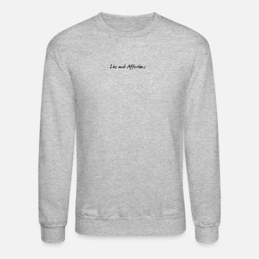 Affection Lies And Affection - Unisex Crewneck Sweatshirt