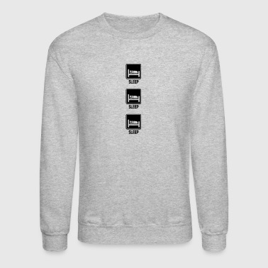 Sleeping sleep sleep sleep - Crewneck Sweatshirt
