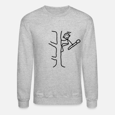 Woodcutter Woodcutter with chainsaw - Crewneck Sweatshirt