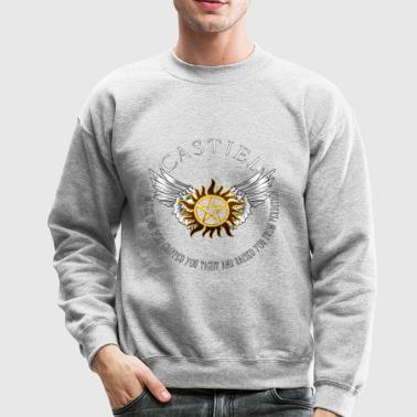 Castiel Protection Symbol - Crewneck Sweatshirt