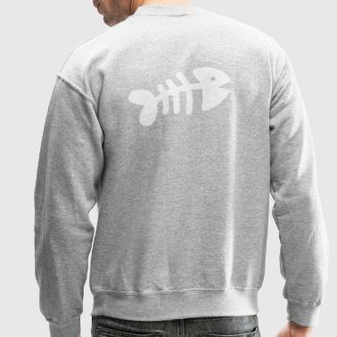 fishbones silver simple - Crewneck Sweatshirt
