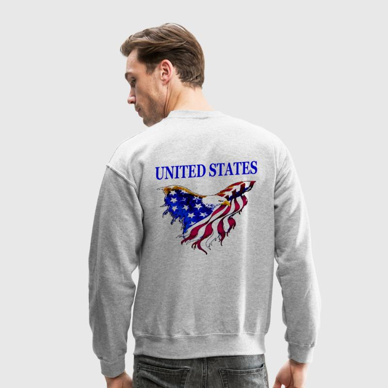 United States Eagle Flag - Crewneck Sweatshirt