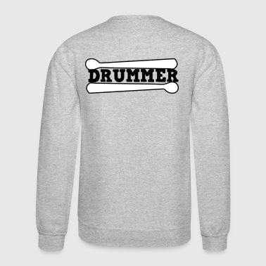 drummer drums drum with drumsticks - Crewneck Sweatshirt
