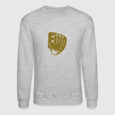 1303 baseball glove - Crewneck Sweatshirt