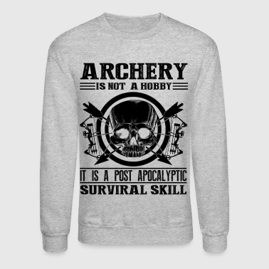 Archery Survival Skill Shirt - Crewneck Sweatshirt