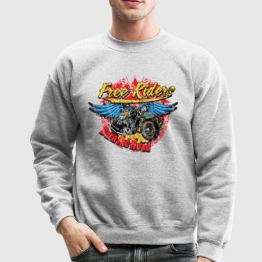 Free Riders - Burn The Road - Crewneck Sweatshirt