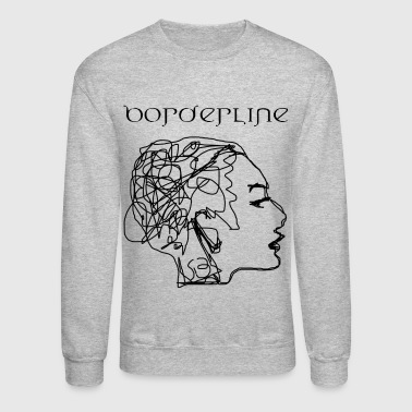 Borderline Redbubble Tee - Crewneck Sweatshirt