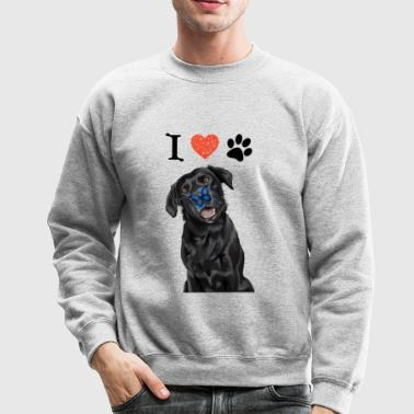 I LOVE DOGS - Crewneck Sweatshirt