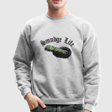 smudge life color - Crewneck Sweatshirt