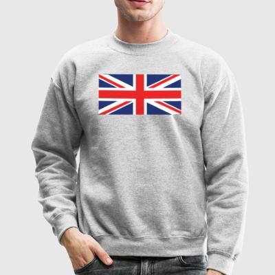 Flag of the United Kingdom Cool British Flag - Crewneck Sweatshirt
