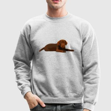 Chocolate Labrador Shirt - Crewneck Sweatshirt