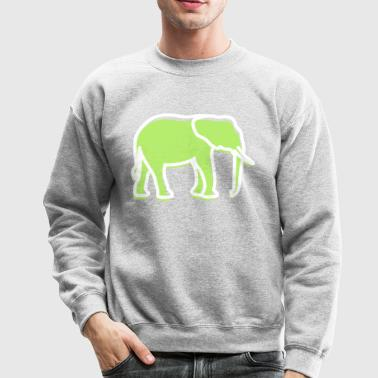 A Big Elephant With Trunk - Crewneck Sweatshirt