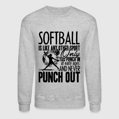 Punch In And Never Punch Out Shirt - Crewneck Sweatshirt