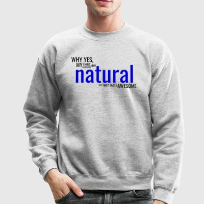 Natural Dark - Crewneck Sweatshirt