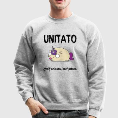 Unitato Half Unicorn Half Potato - Crewneck Sweatshirt