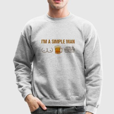 simple man - Crewneck Sweatshirt