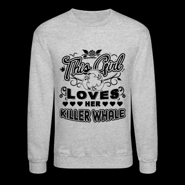 Killer Whale Shirt - Crewneck Sweatshirt