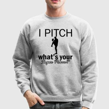 pitch design - Crewneck Sweatshirt