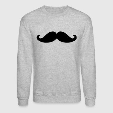 Movember Moustache - Crewneck Sweatshirt