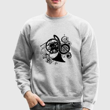 French Horn Shirt - Crewneck Sweatshirt