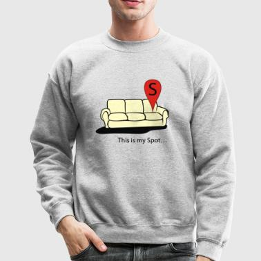This is my spot - Crewneck Sweatshirt