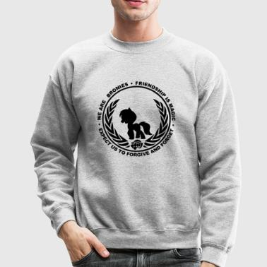 Bronies Friendship is Magic - Crewneck Sweatshirt