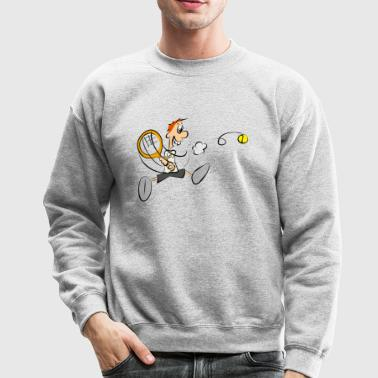 tennis - Crewneck Sweatshirt