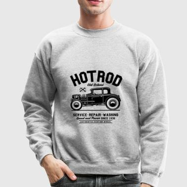 Hot Rod Old School - Crewneck Sweatshirt