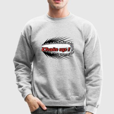 chain up - Crewneck Sweatshirt
