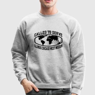 Illinois Chicago West Mission - LDS Mission CTSW - Crewneck Sweatshirt
