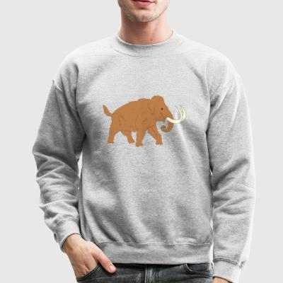 Animal Ancient Mammoth Trunk Fur 45726 - Crewneck Sweatshirt