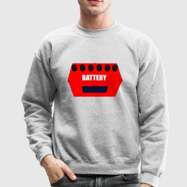 BATTERY - Crewneck Sweatshirt