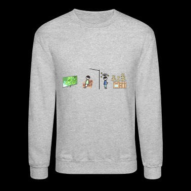 dish mountain - Crewneck Sweatshirt