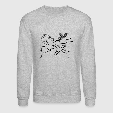Horse and Foal - Crewneck Sweatshirt