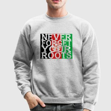 never forget roots home Afghanistan - Crewneck Sweatshirt