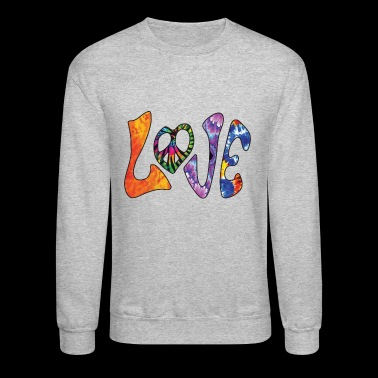 Hippie Love - Crewneck Sweatshirt
